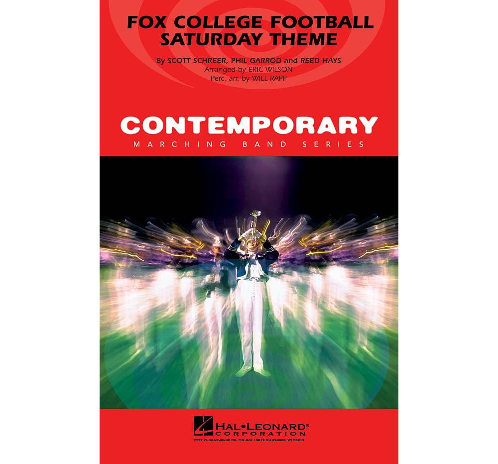 Hal Leonard Fox College Football Saturday Theme Marching Band Level 3 Arranged by Eric Wilson by Hal Leonard
