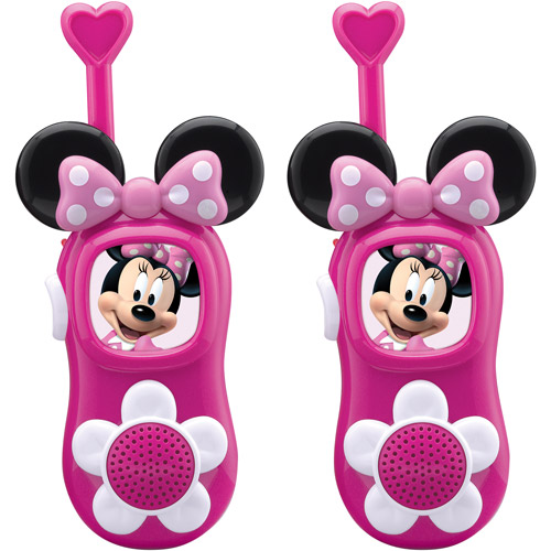 Disney Minnie Mouse Bow-Tastic Walkie-Talkies