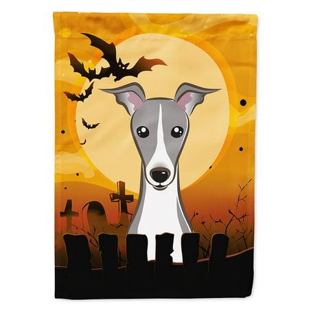 Halloween Italian Greyhound Garden Flag](Halloween Yard Flags)