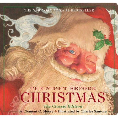 The Night Before Christmas (Classic) (Board Book) - Halloween Falls On The Night Before