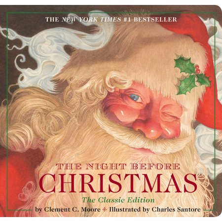 The Night Before Christmas (Classic) (Board Book) - The Night Before Christmas Sally