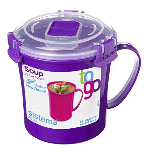 Sistema 21107Zs Soup Mug To Go