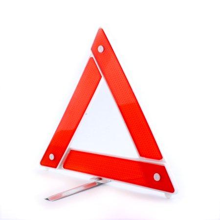 Emergency Warning Triangle - Large Road Safety Car Warning Triangle Reflective Emergency Breakdown Hazard