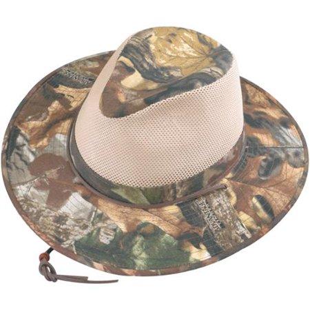 ea3bbcfc564 762029114150. Henschel Size Medium Mens Polycotton Camo with Mesh Sides Aussie  Breezer Safari Hat