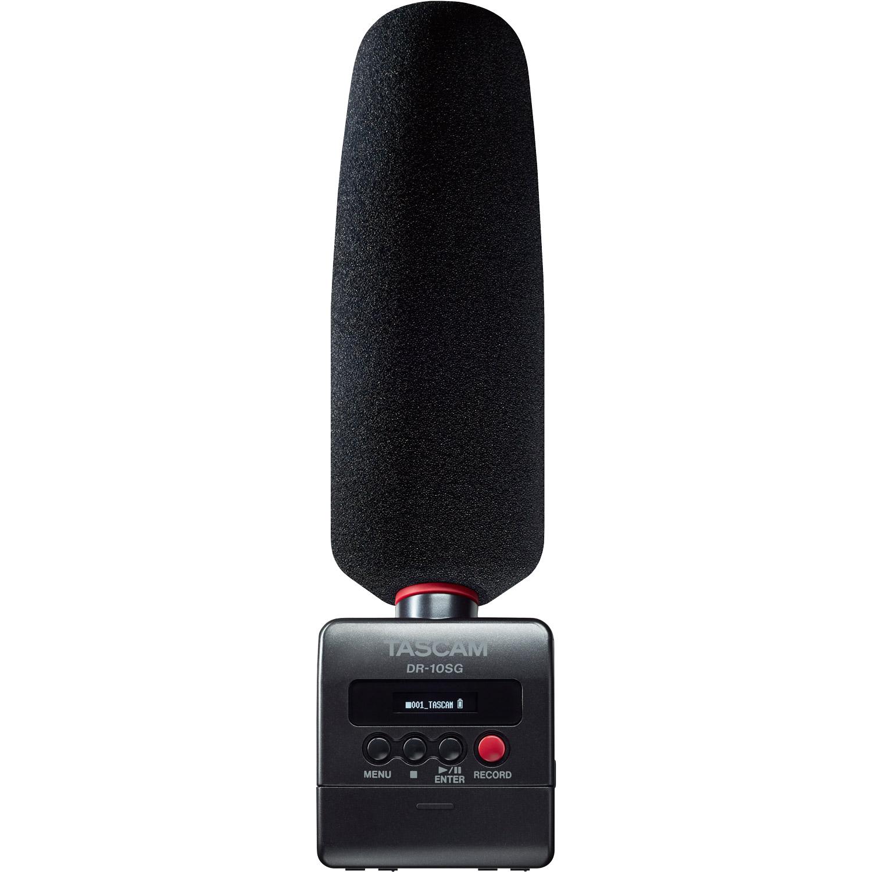 Tascam Camera-Mountable DSLR Audio Recorder w  Shotgun Microphone (DR-10SG) by Tascam