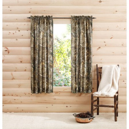 RealTree Xtra Camo Curtain Panels, Set of 2 by 1888 Mills, LLC