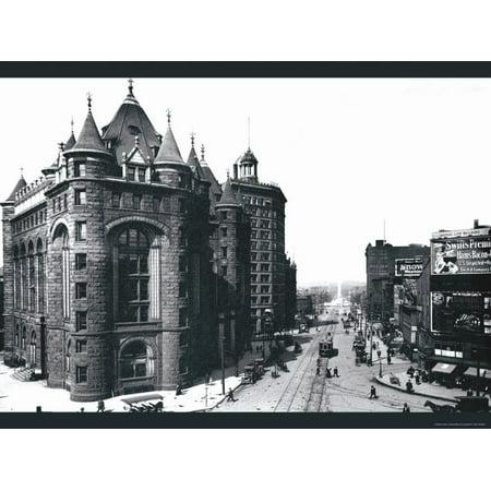 Niagara Street, Buffalo, New York Print Wall Art By William Henry Jackson Niagara Street Buffalo