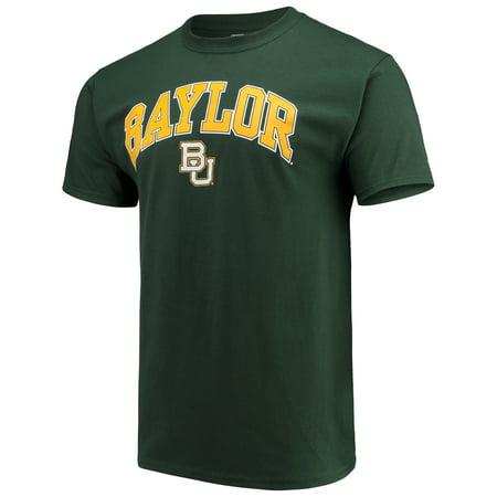 Baylor Bear Green (Men's Russell Green Baylor Bears Core Print T-Shirt )