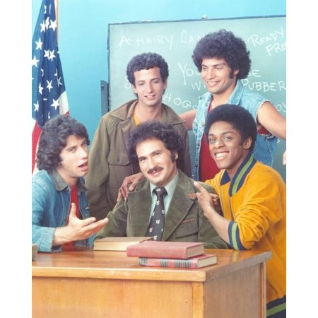 (Welcome Back Kotter Cast Portrait Photo By Movie Star News)