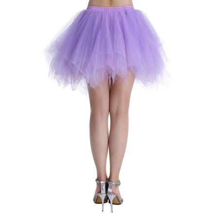 Women In Tutus (Market In The Box 1950s Women Tutu Skirt Vintage Short Tulle Petticoat Ballet Bubble Skirt Cocktail Dress Cosplay Skirt Puffy)