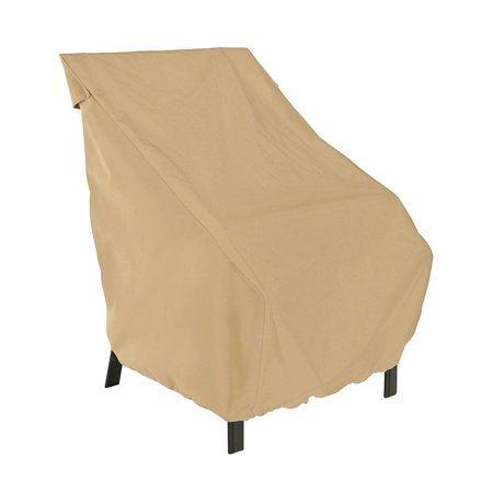 Classic Accessories Terrazzo® High Back Patio Chair Cover - All Weather Protection Outdoor Furniture Cover, 26