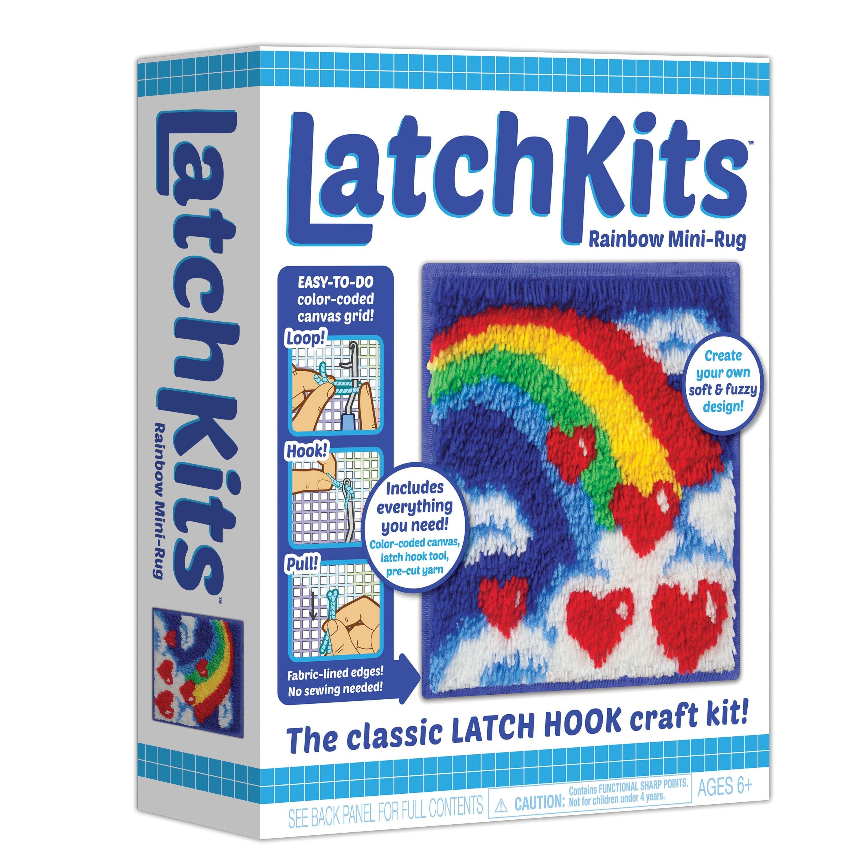 Latch Kit Mini Rug-Rainbow