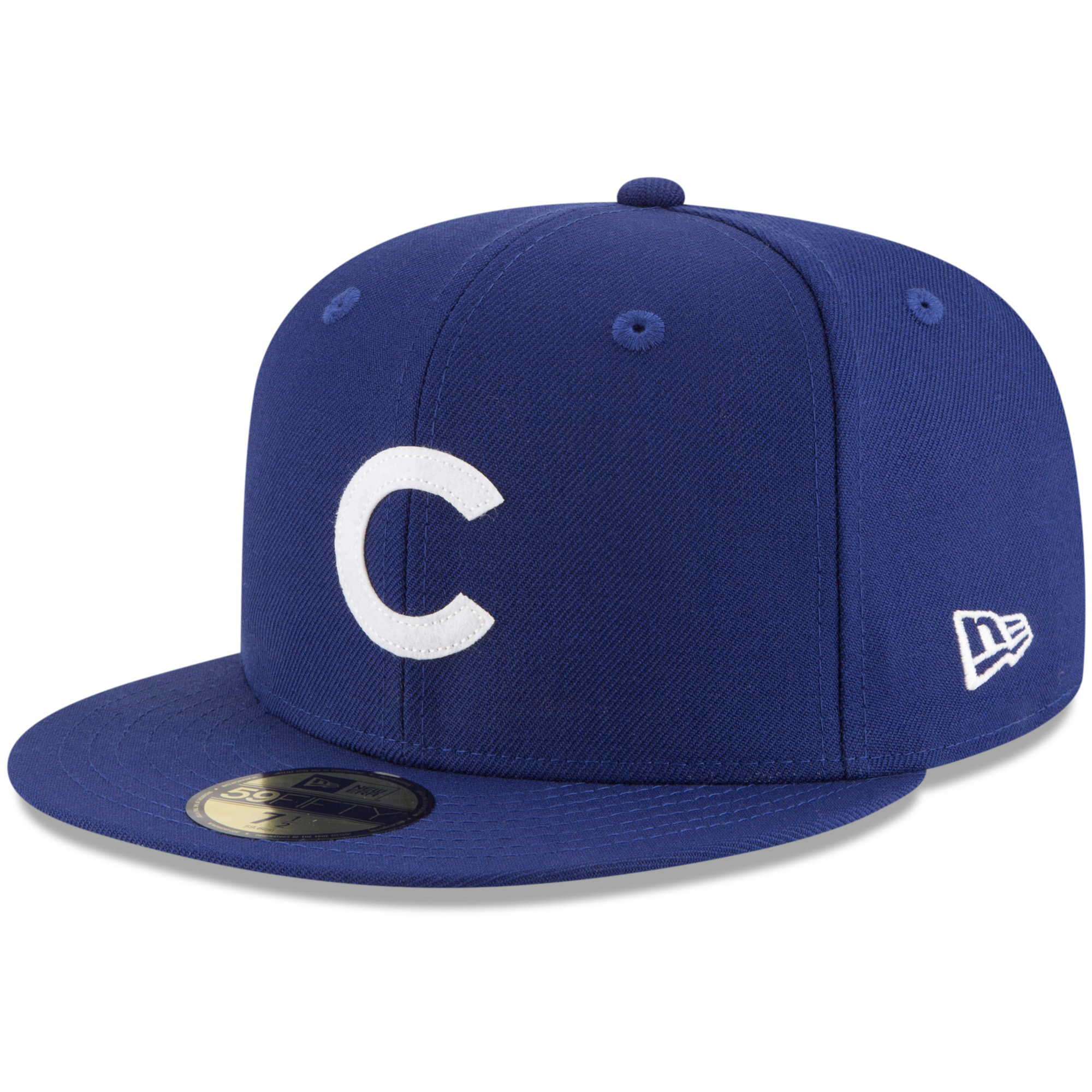 Chicago Cubs New Era Cooperstown Inaugural Season 59FIFTY Fitted Hat - Royal