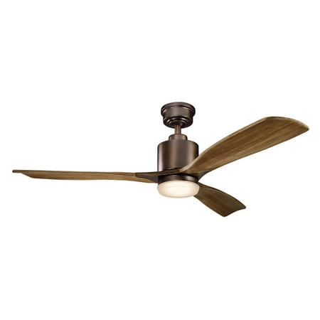 Classic Silver Ceiling Fan - Kichler Ridley II 52 in. Indoor Ceiling Fan