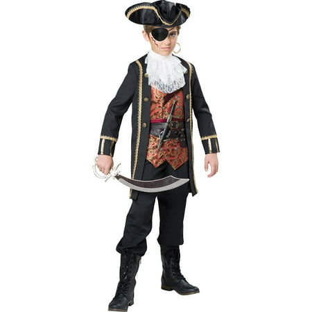Boys Captain Scurvy Pirate Halloween Costume](Boys Pirate Costume)