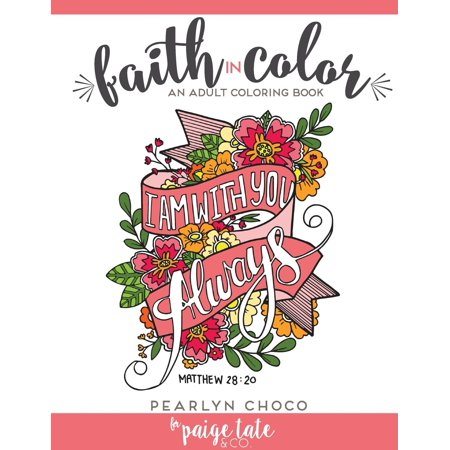 Faith in Color: An Adult Coloring Book (Paperback) - Coloring Pages Online For Adults