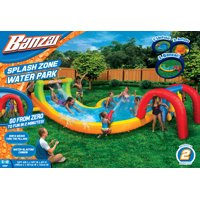 Walmart.com deals on Banzai Water Park Splash Zone