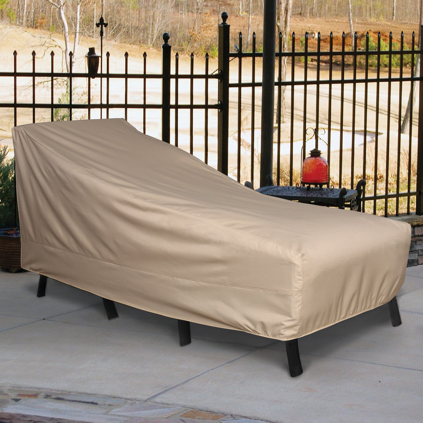 Sure Fit Patio Armour Ripstop Chaise Lounge Cover