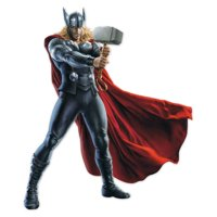 Marvel Thor Augmented Wall Decal