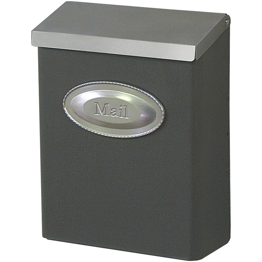 Solar Group DVKPBZ00 Vertical Wall Mount Mailbox with Lock by Solar Group