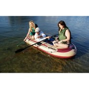 Solstice Voyager Inflatable 3 Person Boat Set