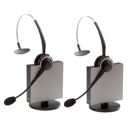 (Jabra GN9125 Flex NC Mono Wireless Headset w/ PeakStop Technology & Noise-Canceling Mic (2 Pack))