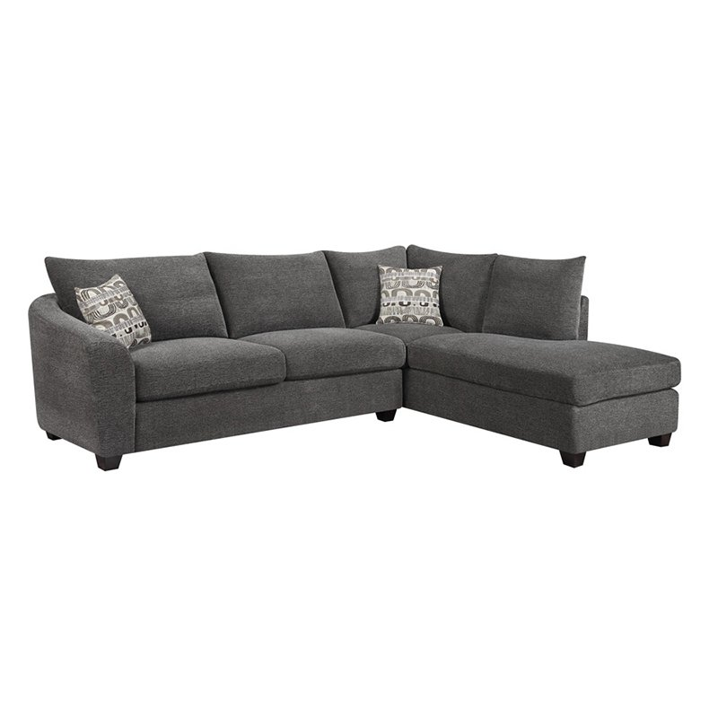 Emerald Home Urbana 2 Piece Sectional Sofa with Chaise by Emerald Home