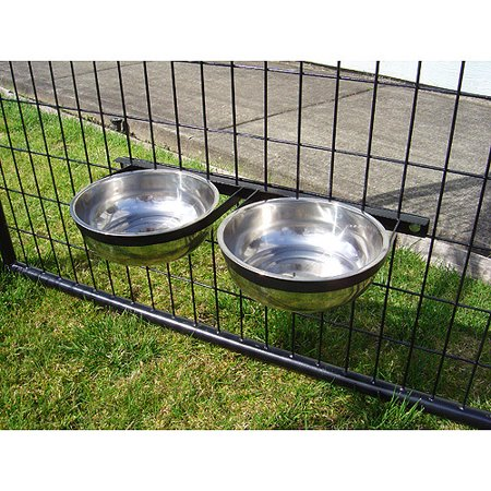 Dog Kennel Feeding Bowls