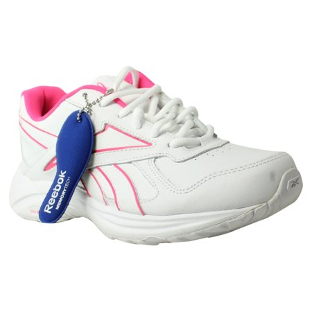 1d80539760d2 Reebok - New Reebok Womens Walk Ultra V Dmx Max Pr-White SolarPink Walking  Shoes Size 7 - Walmart.com