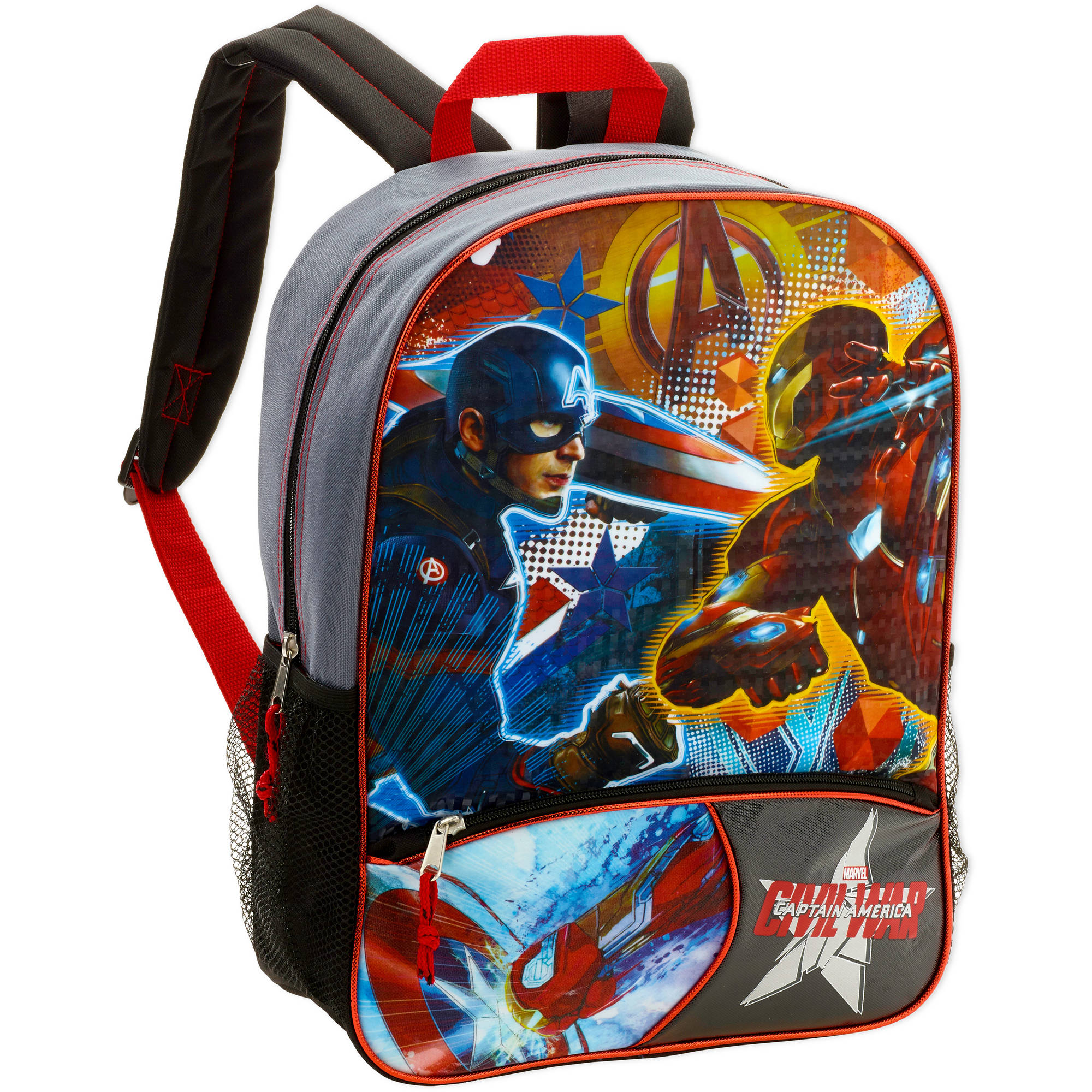 "16"" Marvel Captain America: Civil War Full Size Backpack"