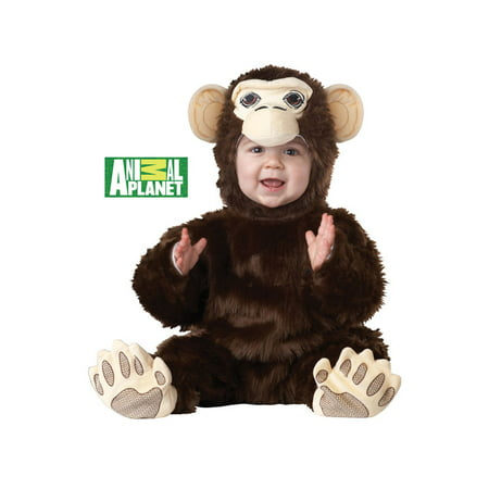 Animal Planet Chimpanzee Infant Costume](Planet Halloween)