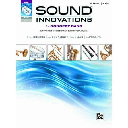 B-flat Clarinet Music Book - Sound Innovations for Concert Band for B-flat Clarinet, Book 1