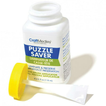 Craft Medley Puzzle Saver Glue - 4oz
