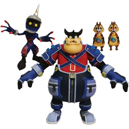 Kingdom Hearts Select Series 2 Pete Chip N Dale & Heartless Soldier