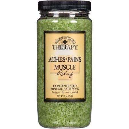 Village naturals therapy aches pains relief mineral bath soak village naturals therapy aches pains relief mineral bath soak negle Images