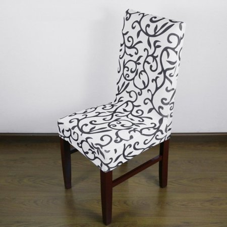 Jacquard Printed Thickening Stretch Brief Chair Cover Half Chair Covers - image 2 of 9