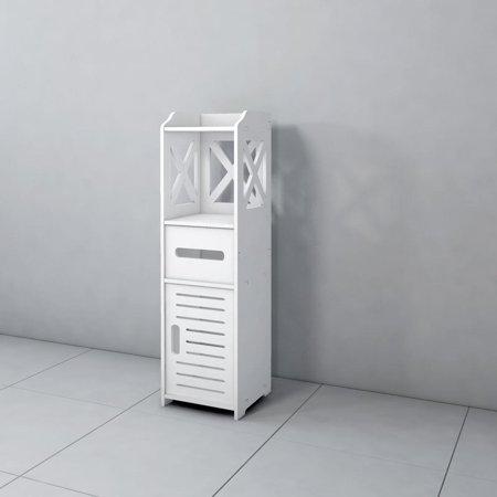 UBesGoo Bathroom Storage Cupboard Unit Cabinet Shelves Under Sink Basin Stable - Cabinet Storage Unit
