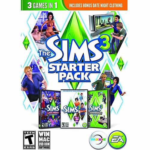 Sims 3 Starter Pack (PC/Mac) (Digital Code)