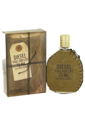 Diesel Fuel For Life Eau de Toilette, Cologne for Men, 2.5 Oz