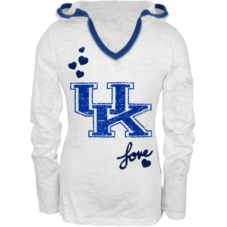 Burnout Hooded Tee (Kentucky - Girls Youth Burnout Hooded Long Sleeve)