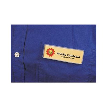 Imprint Plus Mighty Badge Gold Laser Name Badges IPP901708