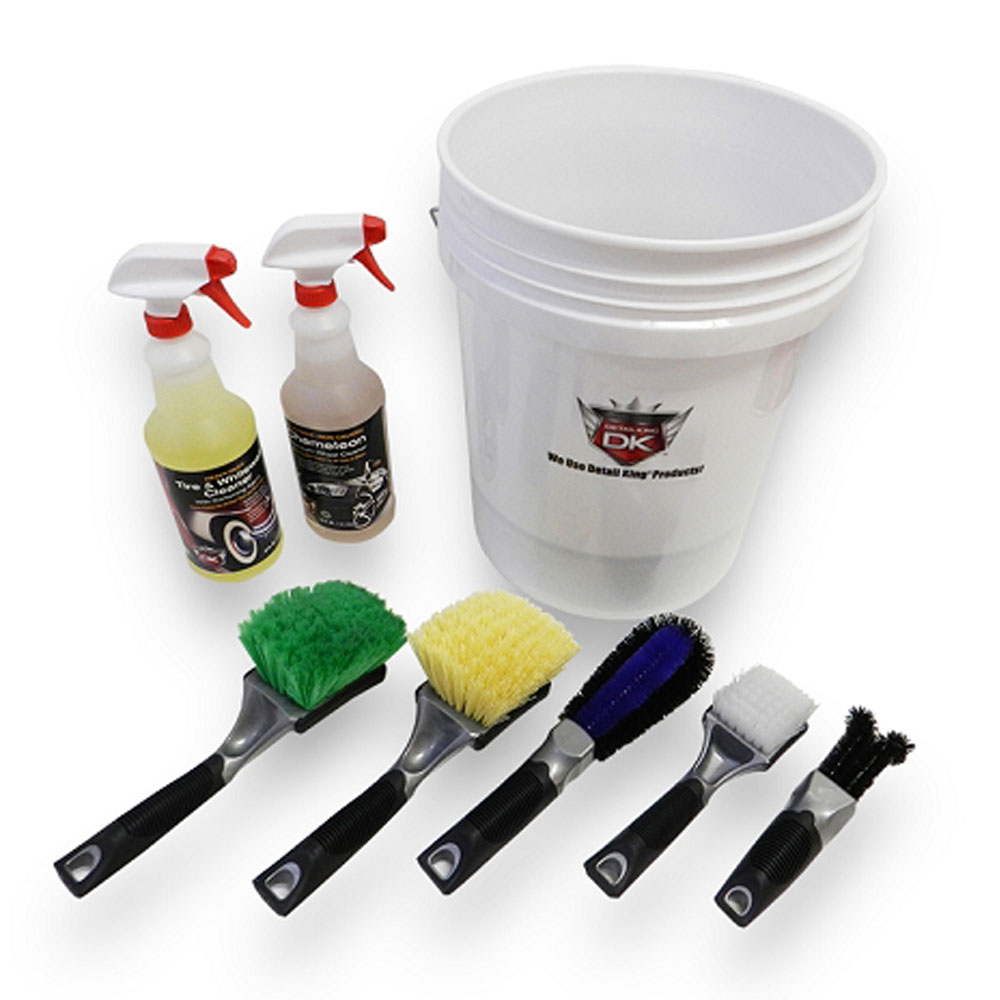 Detail King Car Enthusiast Tire & Wheel Cleaning Value Kit