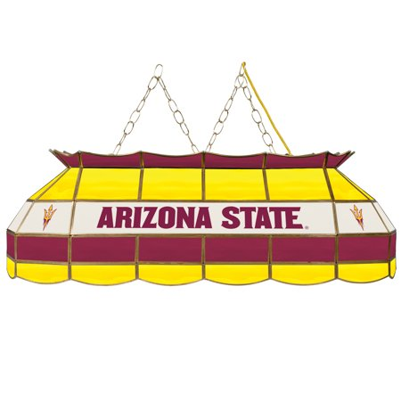Stained Glass Basketball - NCAA Arizona State University 40