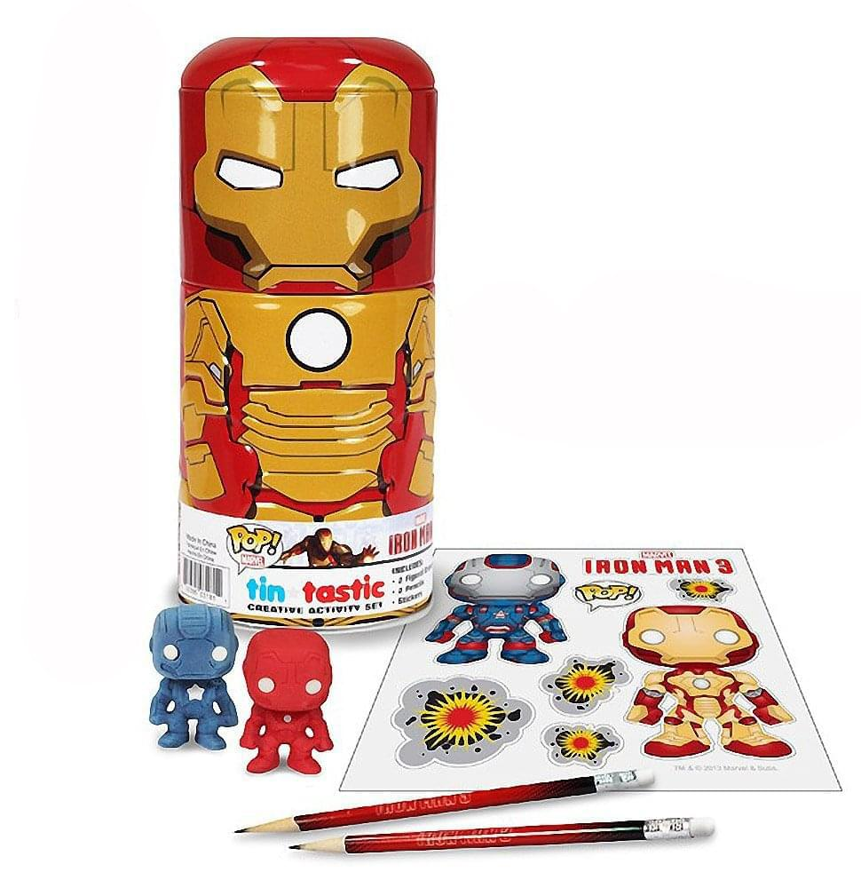 Funko Iron Man 3 Iron Man Can-Tivities Activity Set