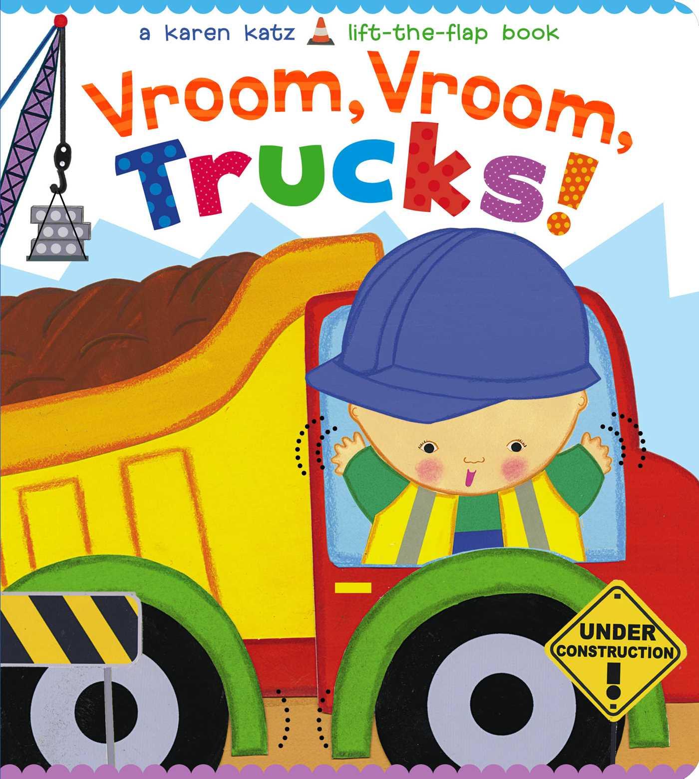 Vroom Vroom Trucks (Board Book)