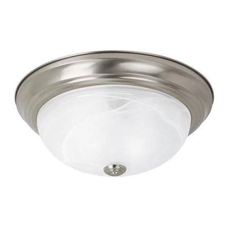 Sea Gull Lighting 75943BLE-962 Flush Mount Brushed Nickel Finish