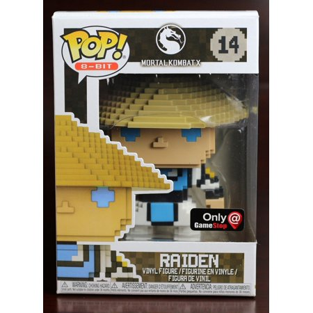 Raiden - Mortal Kombat X Funko 8-Bit Pop! Vinyl Figure #14 GameStop Exclusive](Mortal Kombat Props)