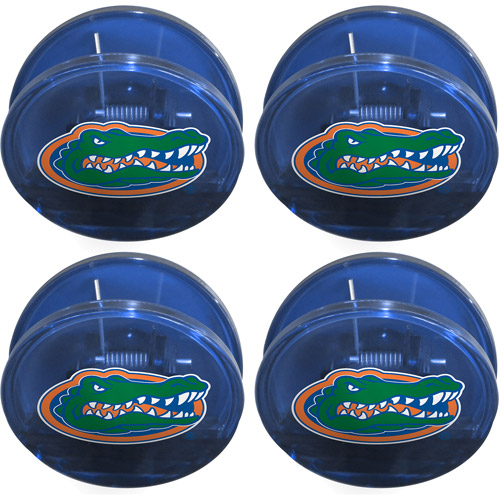 NCAA Florida Gators Magnetic Chip Clip Set, 4pk