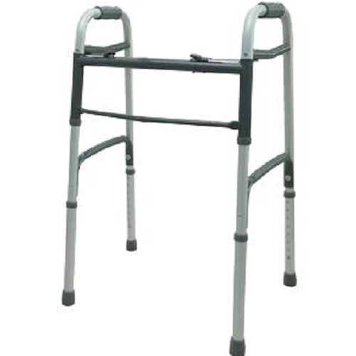 ProBasics Adult Economy Two-Button Steel Walker without Wheels