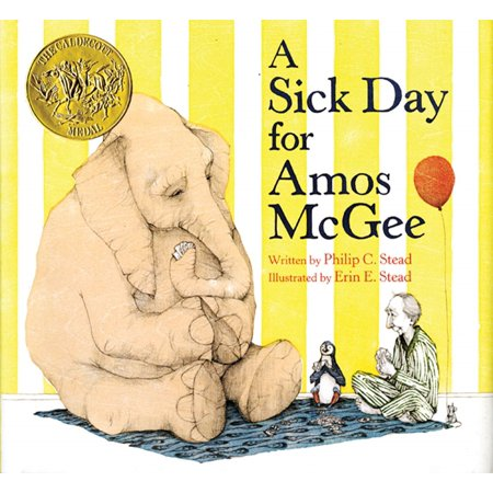 A Sick Day for Amos McGee (Hardcover) (A Sick Day For Amos Mcgee Illustrations)